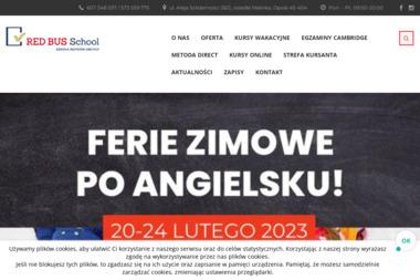 Red Bus School - Kurs niemieckiego Opole