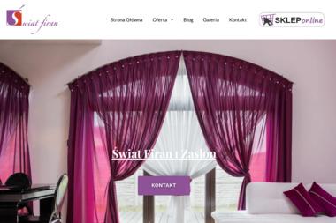 ŚWIAT FIRAN - Szycie Firan i Zasłon Kraków