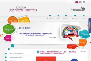 Szkoła Języków Obcych WSG - Kurs niemieckiego Bydgoszcz