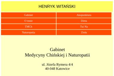 Gabinet Medycyny Chińskiej i Naturopatii - Medycyna Alternatywna Katowice