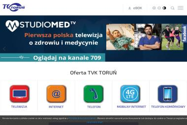 TVK Toruń - Internet, Hosting, Domeny Toruń