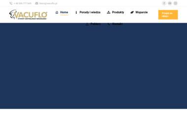 Vacuflo Polska - Urządzenia, materiały instalacyjne Łuków