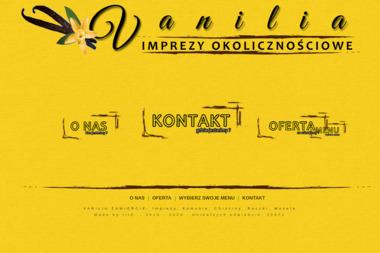 Vanilia - Firma Gastronomiczna Zawiercie