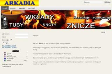 P.P.H.U. ARKADIA - Wkłady do Zniczy Brzeg Dolny