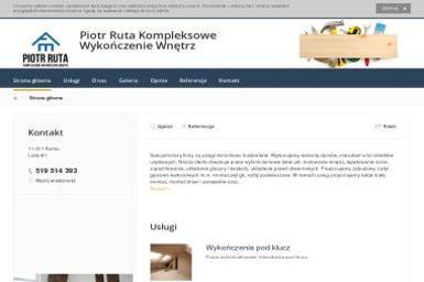 Piotr Ruta Kompleksowe Wykończenie Wnętrz - Tapetowanie Kolno