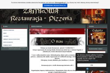 """Restauracja """"Zamkowa"""" - Gastronomia Żagań"""
