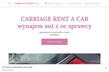 CARRIAGE RENT A CAR - Wypożyczalnia Samochodów Radom