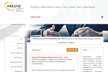 PRESTIŻ - Szkolenia Dofinansowane z UE Lublin