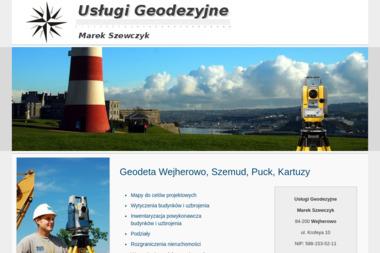 Usługi Geodezyjne  Marek Szewczyk - Geodeta Wejherowo