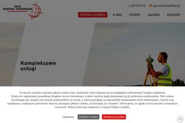Usługi geodezyjno-kartograficzne. Inż. Grześkowiak Sławomir - Firma Geodezyjna Środa Wielkopolska