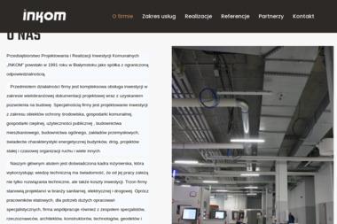 INKOM - Projekty Instalacji Elektrycznych Białystok