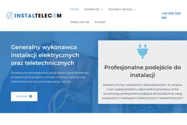 INSTALTELECOM Sp. z o.o. - Projektant instalacji elektrycznych Zielona Góra
