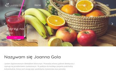 Joanna Gola - Dietetyk Kliniczny - Dietetyk Jelenia Góra