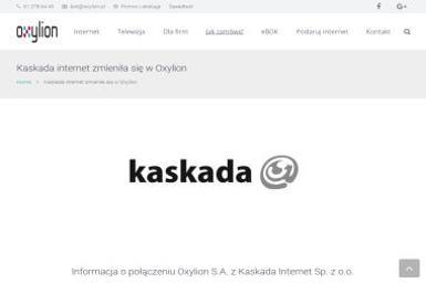 Oxylion - Internet Oleśnica