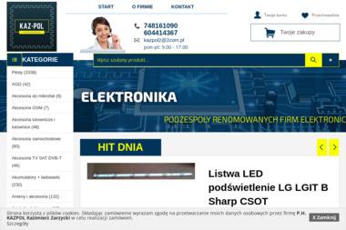 P.H. KAZPOL - Części i podzespoły elektroniczne Ziębice