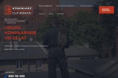 Filip Budzicki - Kominki Pruszcz Gdański