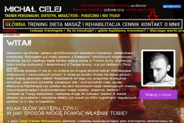 Michał Celej Trener Personalny - Siłownia Głosków
