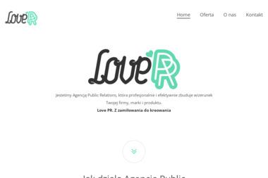Love PR - PR w internecie Pozna艅