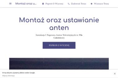 Montaż oraz ustawianie anten - Montaż Anteny Satelitarnej Piła