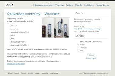 BEAM - Odkurzacze Centralne Wrocław