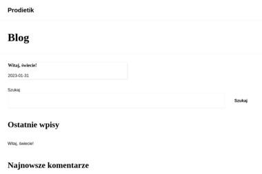 PRODIETIK - Dietetyk Biłgoraj