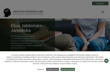 GABINET PSYCHOLOGICZNY – mgr Eliza Jabłońska-Janowska - Leczenie Odwykowe Kalisz