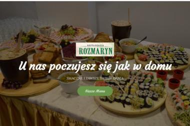 """Restauracja """"Rozmaryn"""" - Catering świąteczny Biała Podlaska"""