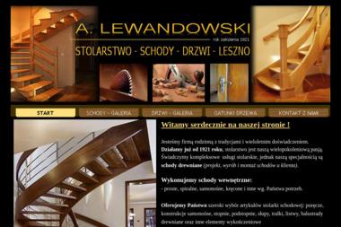 Zakład stolarski LEWANDOWSKI - Schody Drewniane Leszno