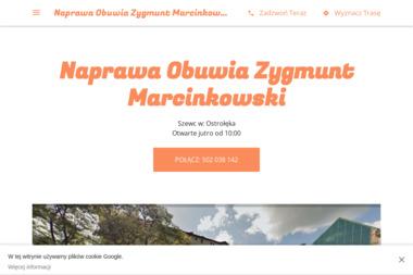 Naprawa Obuwia Zygmunt Marcinkowski - Rzemiosło Ostrołęka