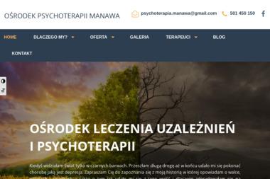 Ośrodek Psychoterapii Manawa - Leczenie Alkoholizmu Nowy Folwark