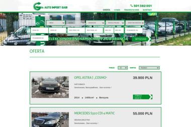 Auto Import Gabi - Samochody Sosnowiec