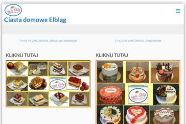 Ciasta Domowe Elbląg - Cukiernia Elbląg
