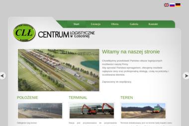 Centrum Logistyczne w Łosośnej - Przeładunki towarów Warszawa