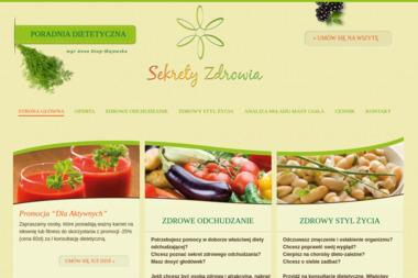 Sekrety Zdrowia - Dietetyk Puławy