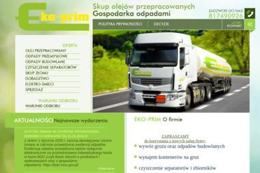EKO-PRIM Sp. z o.o. - Wywóz Gruzu Lublin