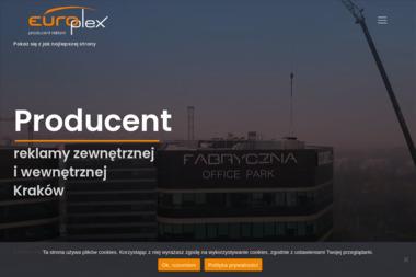 Europlex Producent Reklam - Identyfikacja wizualna Kraków
