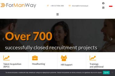 ForManWay - Agencja Rekrutacyjna Warszawa
