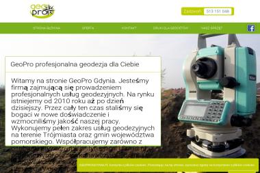 GeoPro - Ewidencja Gruntów Gdynia