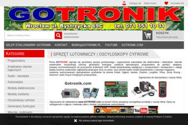 GOTRONIK PPHU - Części i podzespoły elektroniczne Wrocław