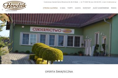 Cukiernictwo Handzik Karina - Cukiernia Biała