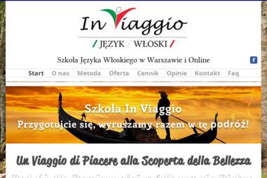 In Viaggio - Kurs włoskiego Warszawa