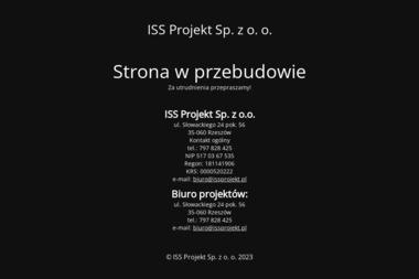 ISS Projekt Sp. z o.o. - Firma konsultingowa Rzeszów