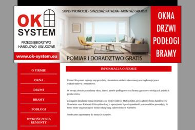 Oksystem - Sprzedaż Okien PCV Skawina