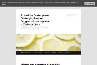 Poradnia Dietetyczna Paulina Długosz-Andrzejczak - Dietetyk Zielona Góra