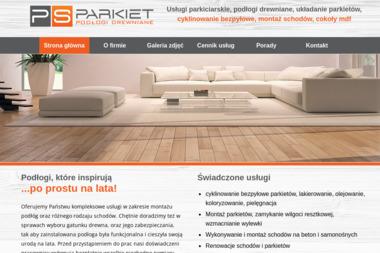 P&S PARKIET - Cyklinowanie Podłogi z Desek Jaktorów