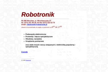 Robotronik - Części i podzespoły elektroniczne Wrocław