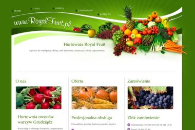 Hurtownia owoców i warzyw Royal Fruit - Warzywa Grudziądz