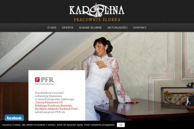 Suknie ślubne Karolina - Wypożyczalnia sukien Gniezno
