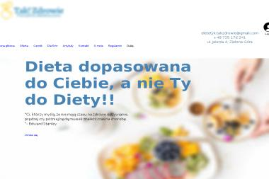 Tak! Zdrowie - Poradia Dietetyczna - Dietetyk Zielona Góra