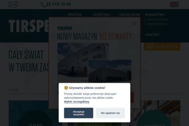 Tirsped - Przeładunki towarów Warszawa